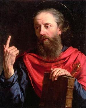 'Saint Paul', 1600's, Philippe de Champaigne