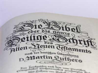 'Bibel', http://aktuell.gemeindebrief.evangelisch.de, Foto: Wodicka