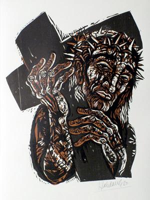 'Kreuzaufnahme', 1980 - Walter Habdank. © Galerie Habdank