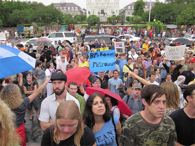 'BP Oil Flood Protest in New Orleans', May 2010
