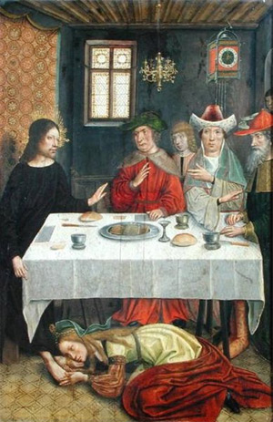 'The Meal at the House of Simon the Pharisee, Anonimous, French school, XV c. (?)