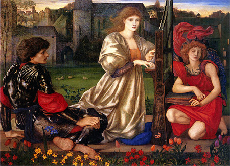 'Le Chant d Amour (Song of Love).', 1833–1898, Edward Burne-Jones