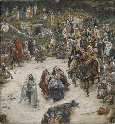 'What Our Lord Saw from the Cross', between 1886 and 1894, James Joseph Jacques Tissot