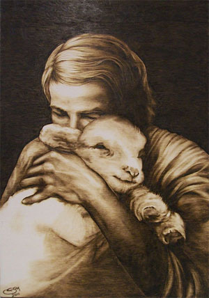 'Phirography the shepherd's love', 2010, StefyMante. Creative Commons Attribution-Share Alike 3.0 Unported license.