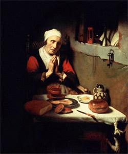 'Alte Frau beim Gebet' Rijksmuseum, Amsterdam, ca. 1655