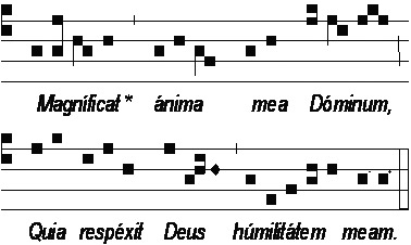 'Antienne du 'Magnificat' pour le Lundi', 2006, MicheletB