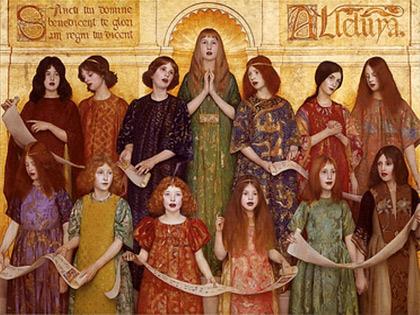 'Alleluia', 1896, Thomas Cooper Gotch