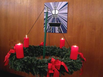 'Kirchsaal Süd', 19. Dezember 2010, PSch