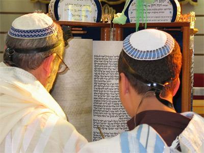 'Boy reading from the Torah according to Sephardic custom', 2006, Sagie Maoz from Ashdod, Israel