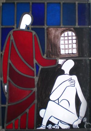 Matt 25 Taten der Barmherzigkeit - Gefangene aufsuchen', Psch, 2009