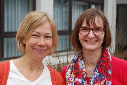 Angela Seger und Heidrun Wacker