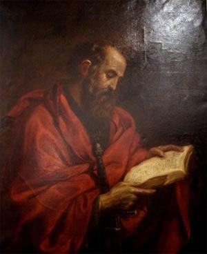 'Der Apostel Paulus', ein Geschenk des Frankfurter Diakonissenhauses