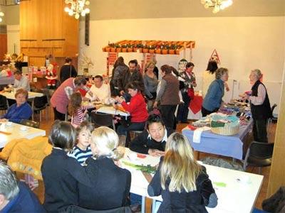 28. und 29. November 2009 - Weihnachtsbasar im Gemeindehaus Süd