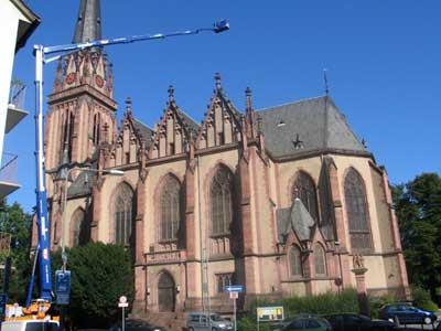 Renovierung der Dreikönigskirche