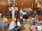Spende an die Nieder - Ramstädter  Diakonie am 30. Mai im Kleinkindergottesdienst