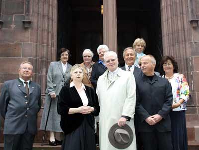 Konfirmationsjubiläum am 30. Mai 2010 in der Dreikönigskirche