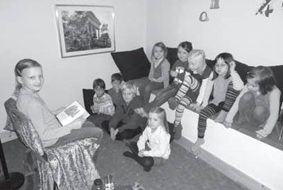 Vorlesetag in der Mainkita - Sprachfördern durch Vorlesen - Februar 2012