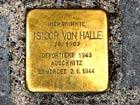 Stolperstein für Isidor von Halle
