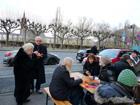 Weihnachtlicher Adventsmarkt am 30. November 2013 in und um die Dreikönigskirche