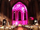 Nacht der Kirchen - Violett-Schwarz