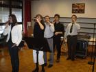 30. November 2008 - Tischabendmahl im Rahmen des Basares mit der Musikgruppe 'Takt 73'