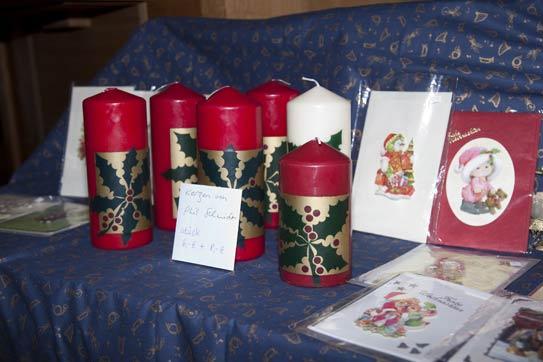 Kreatives für die Adventsfeier oder für zu Hause