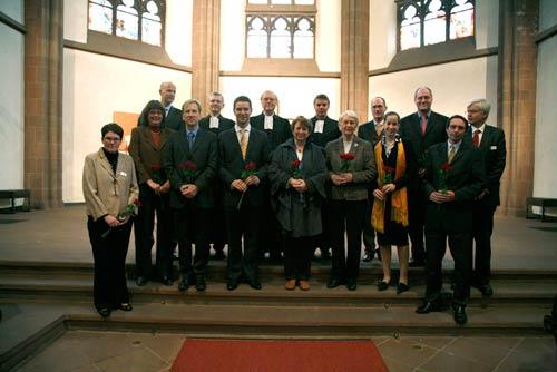 Gruppenbild am 1. November 2009 in der Dreikönigskirche