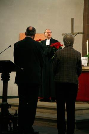 Die Einführung des neuen Kirchenvorstands am 1. November 2009 in der Dreikönigskirche